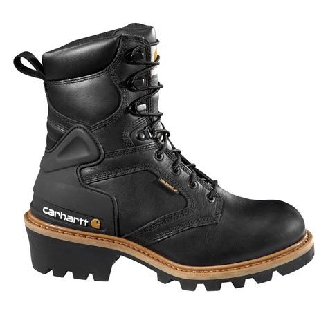 logger boots carhartt boots 8 inch waterproof logger boot