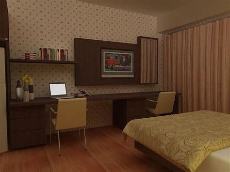 Ranjang Hpl design interior furniture minimalis hotel ruko perumahan