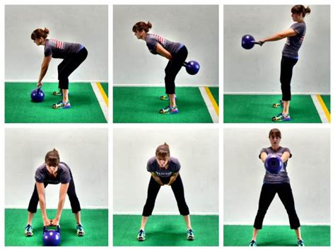 Swing Kettlebell by Single Kettlebell Workout Redefining Strength