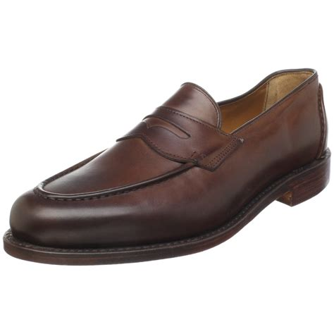 pennie loafers ralph mens singleton loafer in brown for