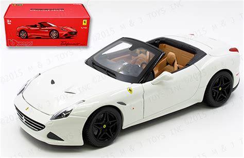Bburago California T Open Top 118 bburago 1 18 signature series california t open top mj toys inc