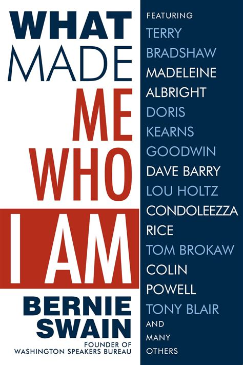 who made me what made me who i am book by bernie swain official publisher page simon schuster
