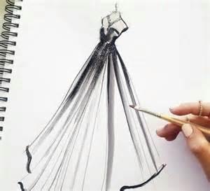 Art Noir Dessin Robe Mode Image 3725860 Par