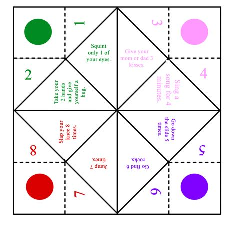 Make Fortune Teller Origami - origami filefortueller mgxsvg wikimedia mons fortune
