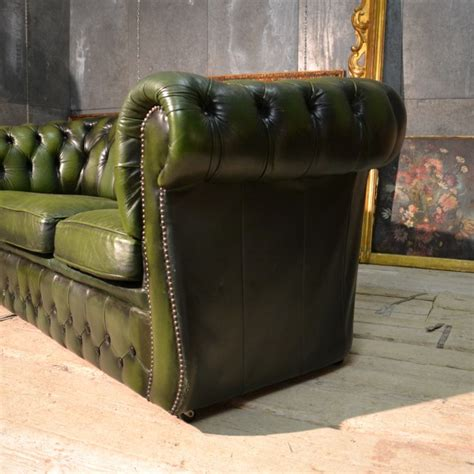 chester divani divano chester tre posti verde be loved chester