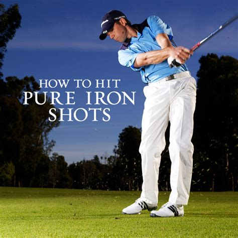sergio garcia iron swing sergio garcia s secrets for pure contact on golf shots
