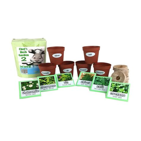 kitchen herb garden kit kitchen garden chefs herb garden 2 seed starter kit