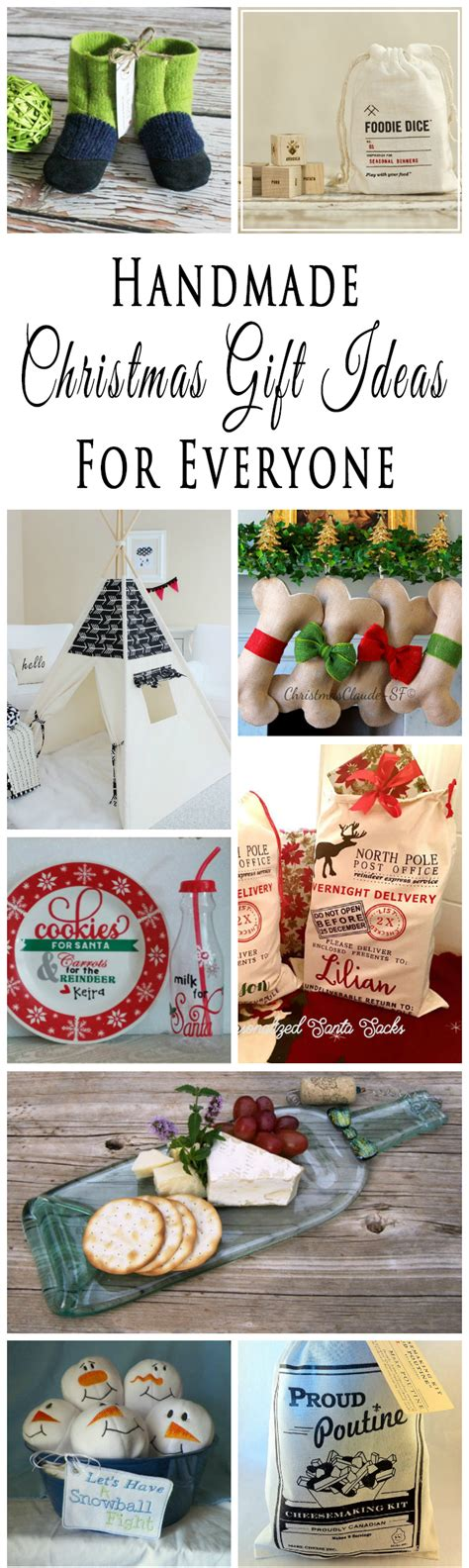 Handmade Gift Ideas For - handmade gift ideas for everyone on your list
