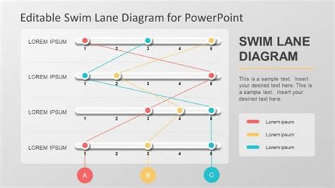 Powerpoint Templates Powerpoint Swim Lanes