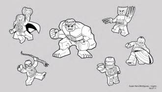 Lego Marvel Coloring Pages lego marvel free colouring pages