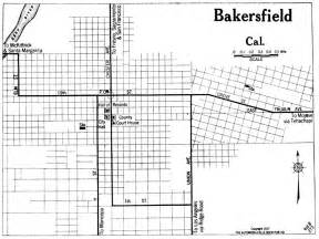 maps of bakersfield city map california united states