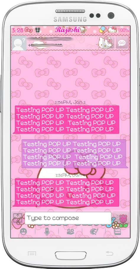 go sms themes hello kitty black pretty droid themes hello kitty loves bow go sms theme