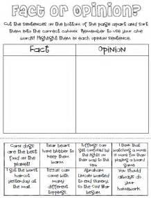 classroom freebies fact or opinion freebie