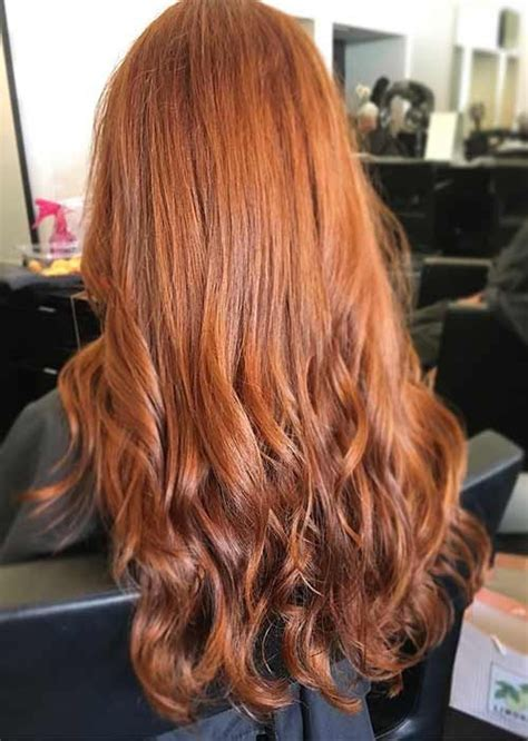 copper colored hair 20 gorgeous ways to style copper hair color