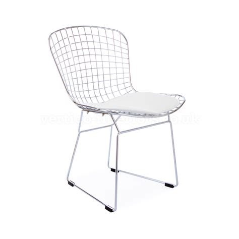 Bertoia Chair by Bertoia Wire Side Chair The Furniture Company Ltd
