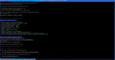 rubygems ruby how to write a gem stack overflow ruby building passenger apache2 module no such file to