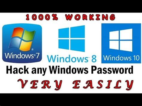 reset administrator password windows 7 youtube reset administrator password of windows 7 8 10 without any