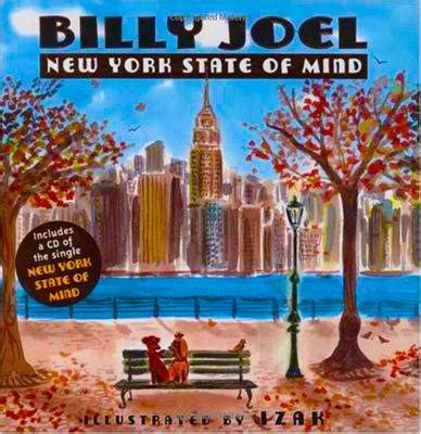 single state of mind books billy joel s new york state of mind as illustrated by izak