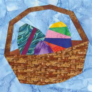 april easter basket quilt block pattern