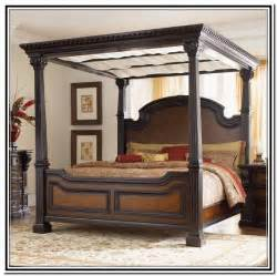 King Size Canopy Bed Furniture King Size Canopy Bed Sets Home Design Ideas