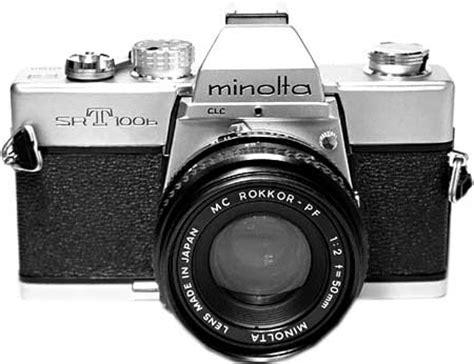my first slr camera: minolta srt100b | photoxels