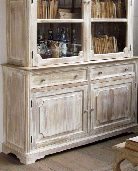 credenze legno credenza vetrina shabby chic legno di mango mobilia