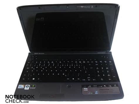 Laptop Acer 2 Duo acer aspire 5739g notebookcheck net external reviews