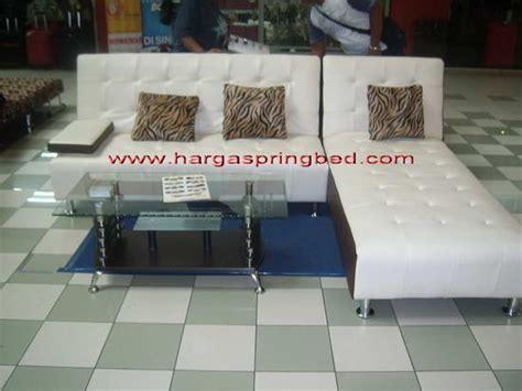 Sofa L Coklat sofa bed aisyahfurniture