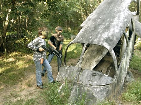 Backyard Paintball Pin Outdoor Airsoft Field Images Gallery On