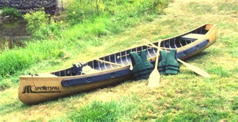 pluut platbodem meyers sportspal canoes square stern transom pointed canoe