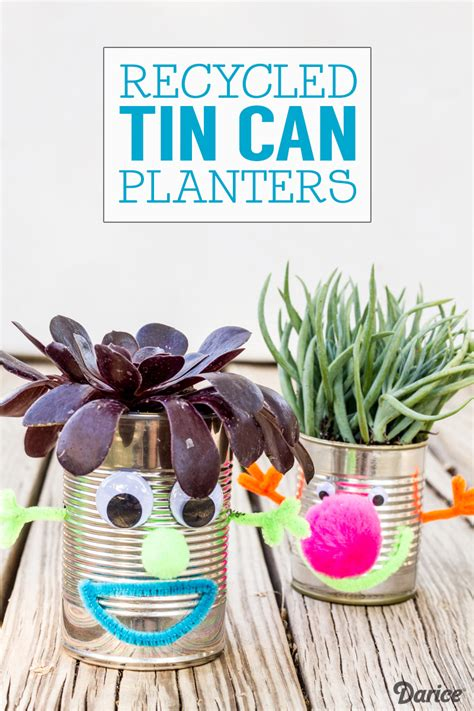 recycled crafts recycled crafts for tin can planters darice