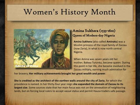 biography of queen amina of zaria womens history kiosk