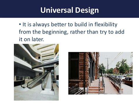 universal design is important and helpful in remodeling applying the principles of universal design for learning