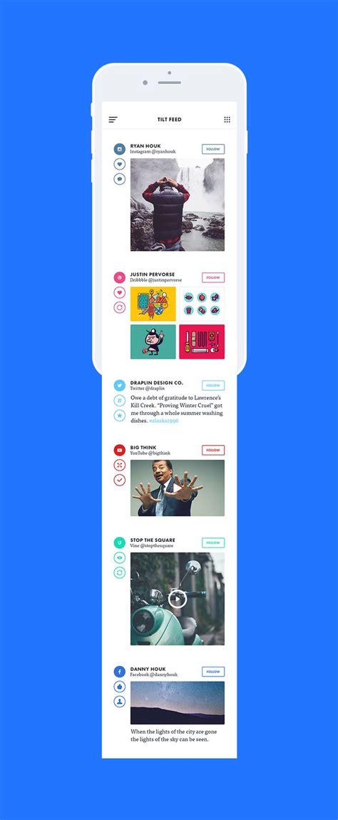 pinterest like layout ios 컨텐츠 sns표현법 app pinterest 모바일 앱 디자인 및 ui