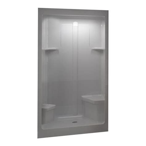 lowes bathroom shower stalls shower stalls from lowes by sterling aqua glass shower