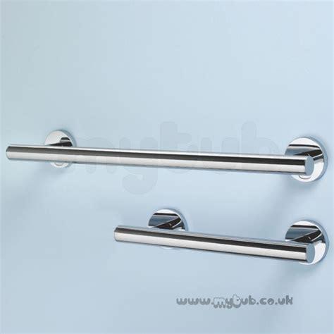 chrome banister rail armitage shanks contemporary 21 60cm handrail chrome fin