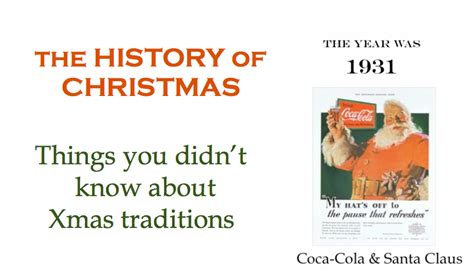 the history of christmas things you didn t know about