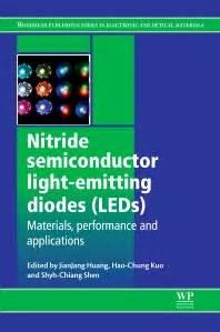 light emitting diodes book nitride semiconductor light emitting diodes leds 1st edition