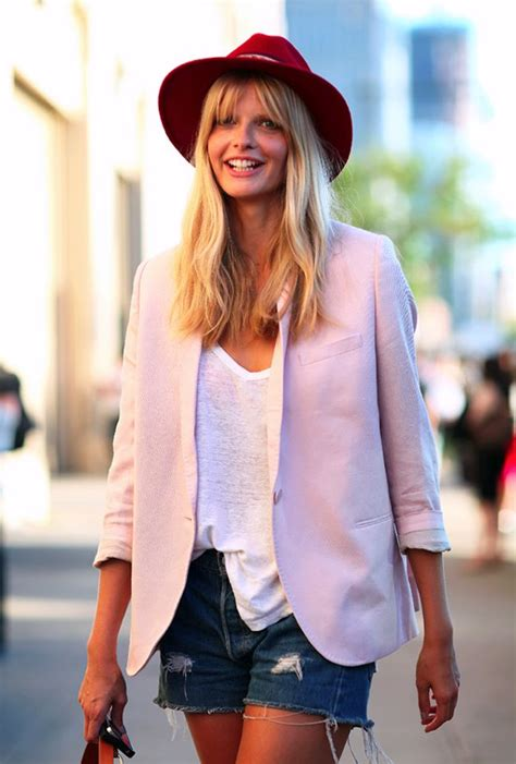 blush colored blazer summer look book the pink blush colored blazer with