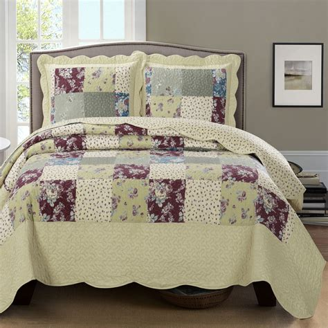 quilt coverlets tania oversized coverlet queen size 3 pieces set luxury