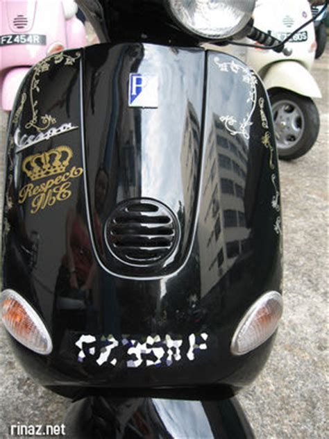 Decal Stiker Pin Up Vespa Jadul vespa stickers picture to pin on thepinsta