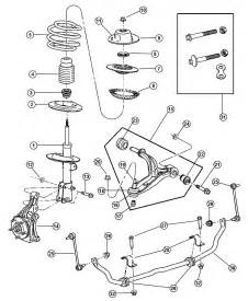 Chrysler Town And Country Parts 2001 Chrysler Town And Country Suspension Parts