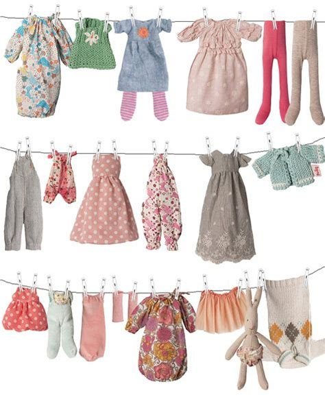 rabbit pattern clothes 316 best maileg tilda images on pinterest