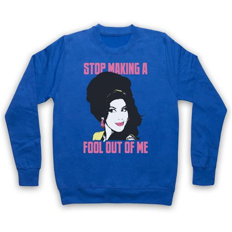 Adlt Out Of The Blue winehouse unofficial valerie stop a fool adults sweatshirt ebay