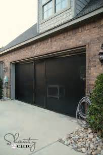 Screen Garage Door Check Out My New Garage Screen So Awesome Shanty 2 Chic