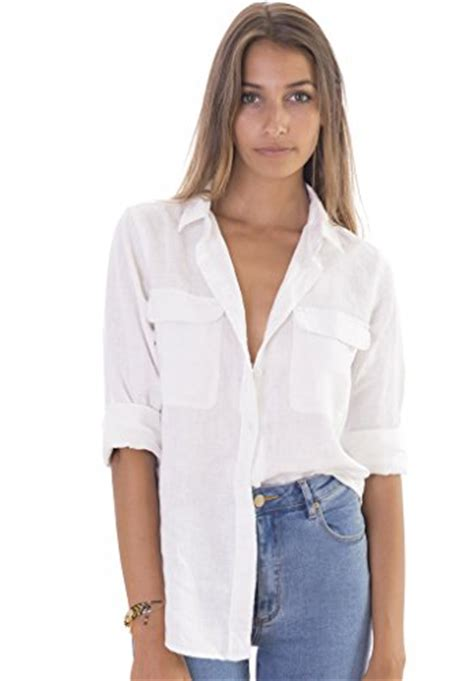 Sleeve Blouses With Pockets by Camixa Linen Two Pockets Sleeve Navy Shirt The