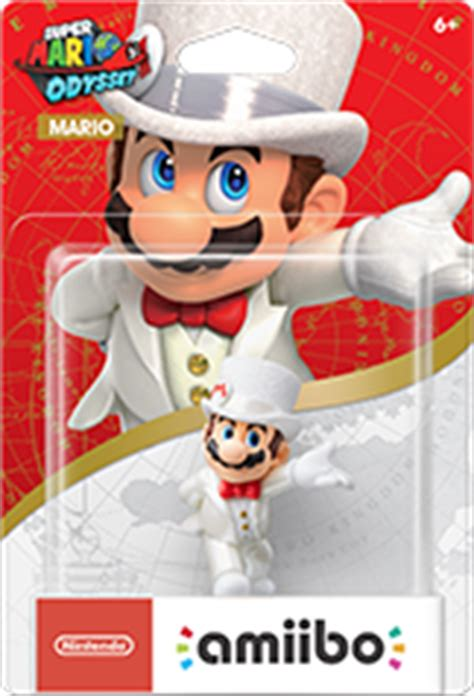 Amiibo Mario Wedding Mario Odyssey Series mario wedding amiibo figure by nintendo mario odyssey series
