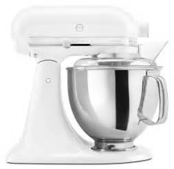 kitchen aid kitchenaid ksm150psww artisan 5 quart stand mixer white