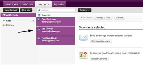 email yahoo romania yahoo mail beta primeşte suport pentru liste de contacte