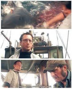 you re gonna need a bigger boat clip quint is devoured scene from jaws movie 1975